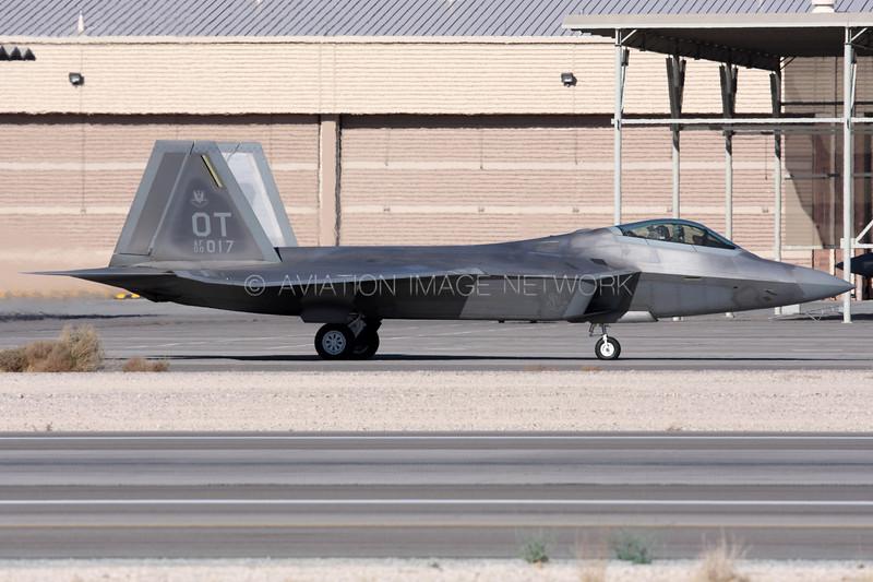 00-4017 | Lockheed Martin F-22A Raptor | United States Air Force