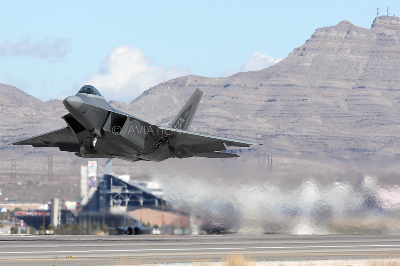 **-****   Lockheed Martin F-22A Raptor   United States Air Force