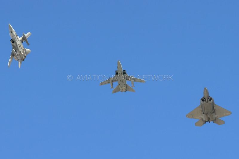 Lockheed Martin F-22A Raptor | Panavia Tornado F.3 | United States Air Force | Royal Air Force