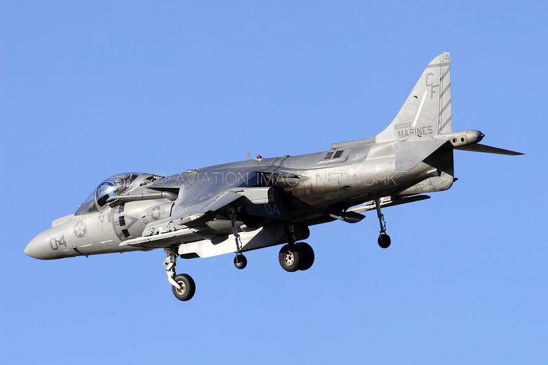 165002   McDonnell Douglas AV-8B+ Harrier II   United States Marine Corps