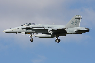 164569 | McDonnell Douglas F/A-18C | United States Navy