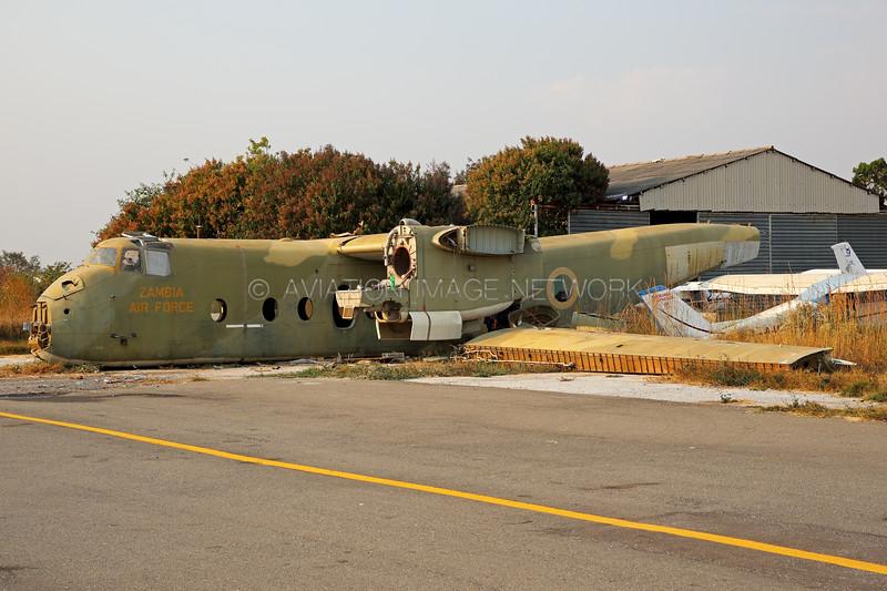 de Havilland Canada DHC-5D Buffalo   Zambia Air Force