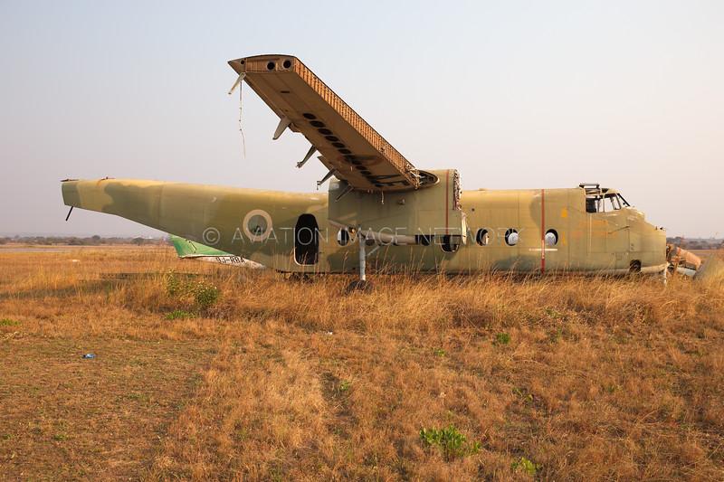 de Havilland Canada DHC-5 Buffalo | Zambia Air Firce
