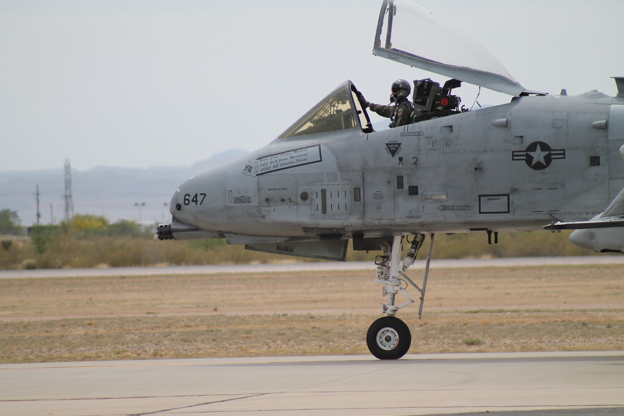 [82-647] at Davis-Monthan, AFB 2014