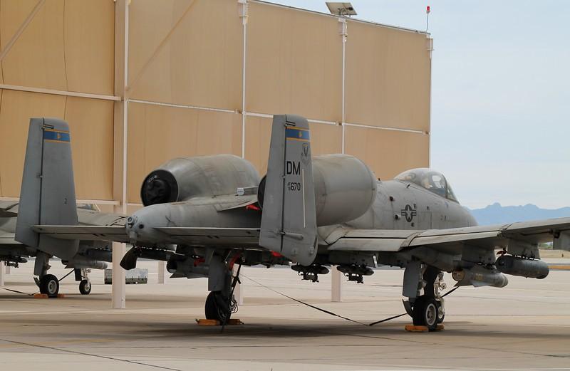 A-10C [78-670] at Davis Monthan AFB 4-12-2014