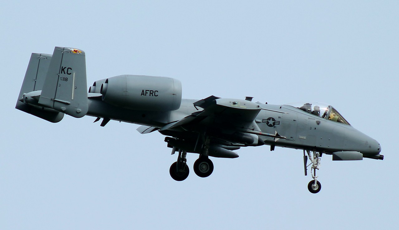 A-10 [79-118] 303 FS Whiteman AFB heading into Westover, ARB Chicopee, MA. 5/15/2015