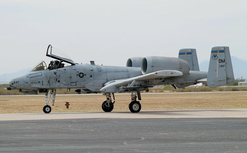 [82-647] at Davis-Monthan, AFB 2014