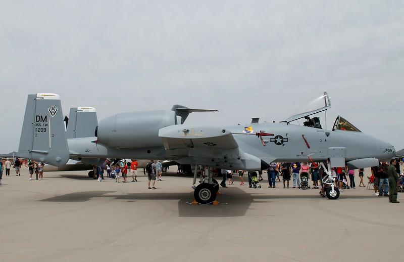 A-10C [79-209] at Davis-Monthan aFB Tucson, AZ. 4-12-2014