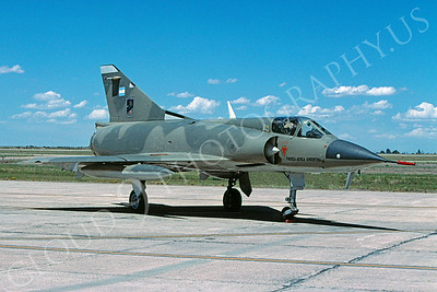 Dassault Mirage III 00027 Dassault Mirage III Argentine Air Force December 2005 via African Aviation Slide Service