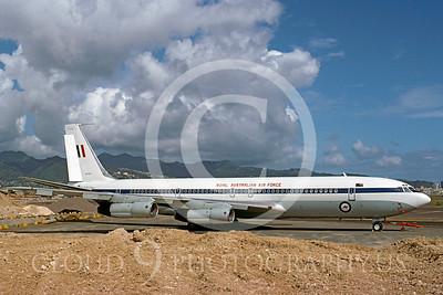 Boeing C-135Forg 00001 Boeing C-135 Royal Austrailian Air Force A20-261 Honolulu IAP 1993 by Carl E Porter