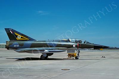 Dassault Mirage IIIB 00003 Dassault Mirage IIIB Austrailian Air Force A3-113 17 November 1980