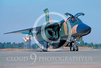 F-111FORG 00001B Gen Dynamics F-111 Australian 1985 McClellan by Peter J Mancus