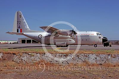 C-130Forg 00079 Lockheed C-130 Hercules Royal Austrailian Air Force A97-172 June 1980 by Peter J Mancus