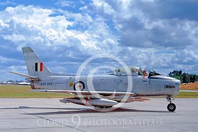 F-86FORG 00003 North American F-86 Sabre Austrailian Air Force 20 July 1967 by Frank MacSorley