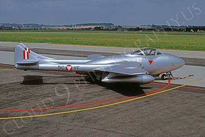 de Havilland Vampire 00013 de Havilland Vampire Austrian Air Force 5CVF August 1996 African Aviation Slide Service
