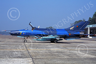 Chengdu F-7 00005 A static blue Chengdu F-7 Fishbed Bangladesh Air Force 934 military airplane picture by Rogier Westerhuis