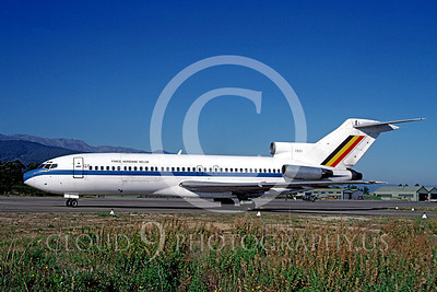 Boeing 727-MF 00003 Boeing 727 Belgium Air Force CB01 November 1987 by Michel Fournier