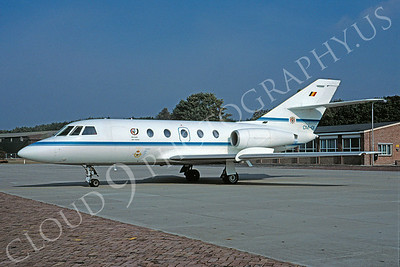 Dassault Falcon 200 00001 Dassault Falcon 200 Belgium Air Force CM-O1 via African Aviation Slide Service