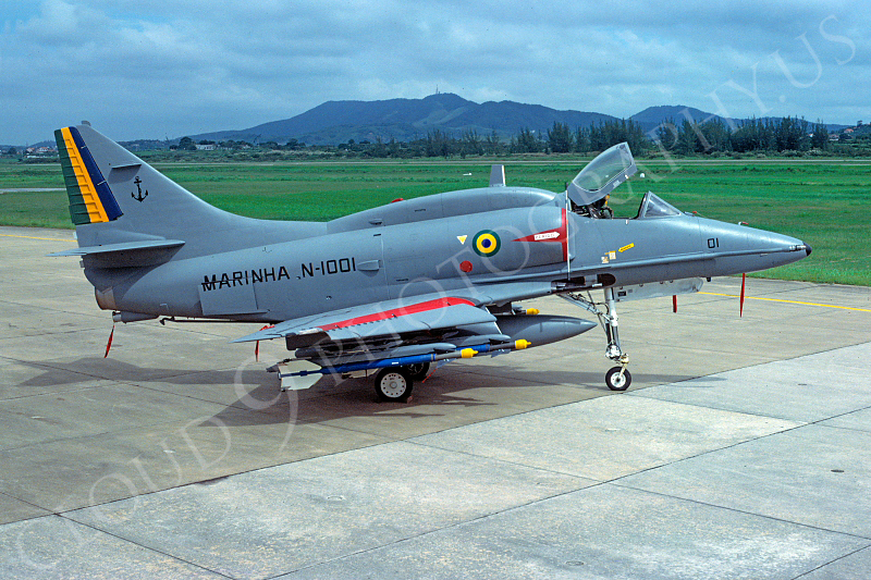 Brazilian Navy Douglas A-4 Skyhawk Military Airplane
