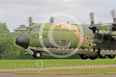 C-130FORG 00006 Lockheed C-130 Hercules Brazilian Air Force by Peter J Mancus