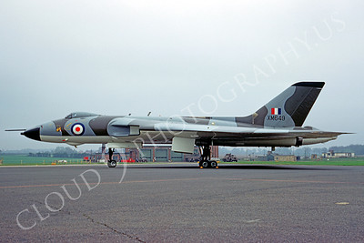 Avro Vulcan 00003 Avro Vulcan British RAF XM649 May 1970 by Bob Burgess