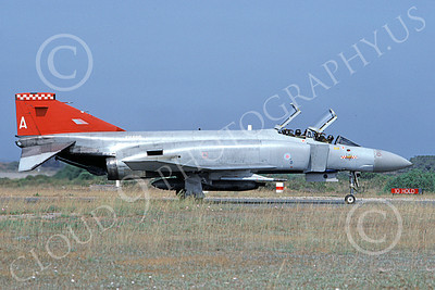 F-4Forg 00193 McDonnell Douglas F-4 Phantom II British RAF XV496 2 June 1992, by Peter R  Foster