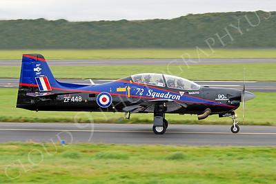 EMB-312 00045 EMBRAER EMB-312 Tucano British RAF ZF488 by Alasdair MacPhail