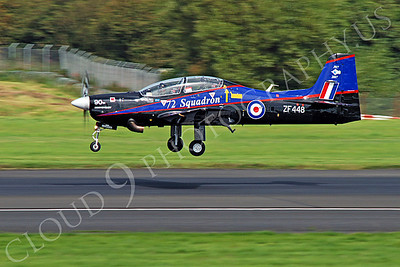 EMBRAER EMB-312 Tucano 00008 British RAF Tucano ZF448 by Alasdair MacPhail