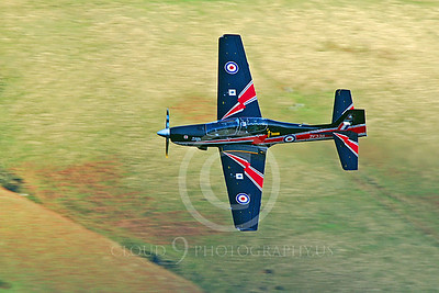 EMBRAER EMB-312 Tucano 00044 British RAF Tucano ZF338 by Alasdair MacPhail