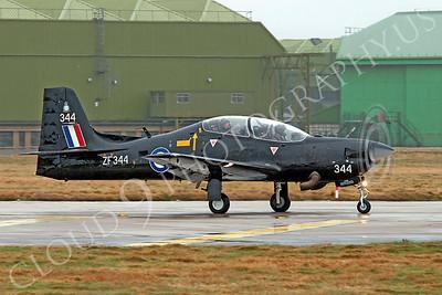 EMBRAER EMB-312 Tucano 00001 EMBRAER EMB-312 Tucano British RAF ZF344 by Alasdair MacPhail