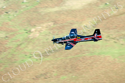 EMBRAER EMB-312 Tucano 00042 EMBRAER EMB-312 Tucano British RAF ZF338 by Alasdair MacPhail