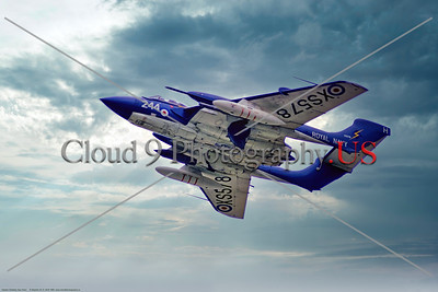 Hawker Siddeley Sea Vixen 004 A low flying Hawker Siddeley Sea Vixen, British Royal Navy carrier based strike aircraft, X5578, 9-1969 Yeovilton, military airplane picture by Stephen W  D  Wolf     853_7824     Dt