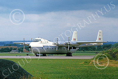 Argosy 00003 A static Hawker Siddeley Argosy cargo aircraft British RAF military airplane picture by Duane A Kasulka