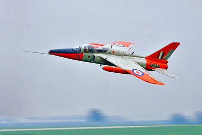 Folland Gnat 00004 An awesome, dynamic, flying picture of a Folland Gnat T 1 British RAF jet trainer  XP534 4 TFS Yeovilton 6-1969, military airplane picture by Stephen W  D  Wolf     853_8115     DoneWT