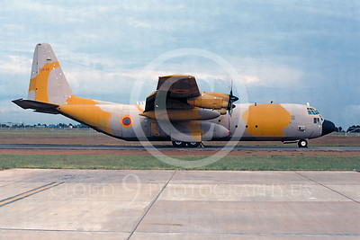 C-130Forg 00109 Lockheed C-130 Hercules Camerron Air Force TJX-CE August 1994 by Ian Malcolm via African Aviation Slide Service