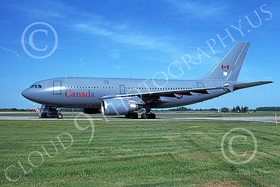 CC-150 00001 A static Airbus A310 CC-150 Polaris Canadian Armed Forces 15003 6-1994 military airplane picture by Ben Jacobson