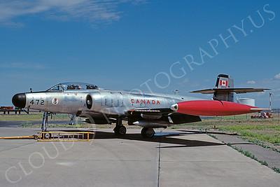 Avro CF-100 00005 Avro CF-100 Royal Canadian Air Force 100472 August 1980 by Douglas E Slowiak