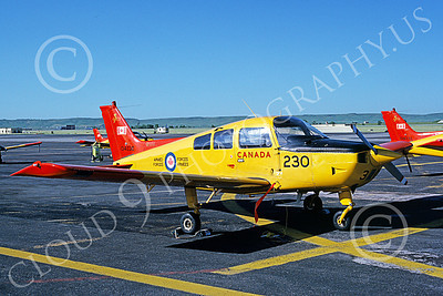 CT-134 00001 A static Beechcraft CT-134 Musketeer Canadian Armed Forces 134230 6-1990 military airplane pictrure by Brian C Rogers