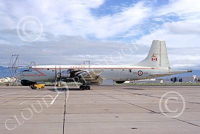 Canadir CP-107 Argus 00009 A static RCAF Canadir CP-107 Argus 716 NAS Moffett 3-1974 military airplane picture by Michael Grove, Sr