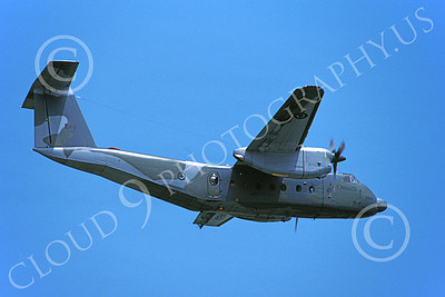 CC-108 00002 A flying de Havilland CC-108 Caribou Canadian Armed Forces 6-1991 military airplane picture by Barry E Roop
