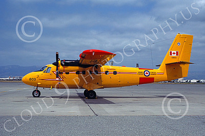 CC-138 00005 A static de Havilland Canada CC-138 Twin Otter Canadian Armed Forces 13803 NAS Moffett 6-1983 military airplane picture by Michael Grove, Sr