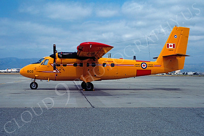 de Havilland Canada DHC-6 Twin Otter Series 100 00001 de Havilland Canada DHC-6 Twin Otter Series 100 Canadian Armed Forces 13803 June 1983 NAS Moffett by Michael Grove, Sr