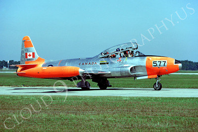 DG 00123 Lockheed CT-33 Shooting Star Canadian Armed Forces 133577 November 1982 Tyndall AFB by Peter B Lewis
