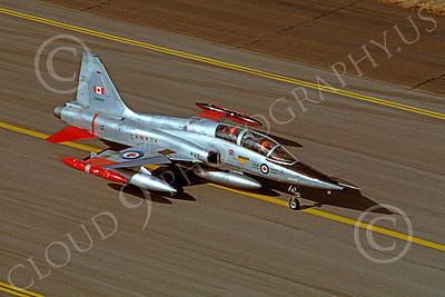 F-5Forg 00055 Northrop F-5F Freedom Fighter Canadian Armed Forces 116825 Hill AFB Nov 1981 by Carl E Porter