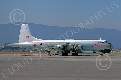 Canadir CP-107 Argus 00015 A static RCAF Canadir CP-107 Argus 712 NAS Moffett 10-1974 military airplane picture by Michael Grove, Sr