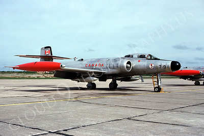 Avro CF-100 00003 Avro CF-100 Canadian Armed Forces 791 June 1977 North Bay AFB by David Shappcutt