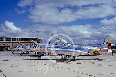 T-33Forg 00013 Lockheed T-33 Shooting Star Columbian Air Force March 1978 by Ben Knowles via AASS