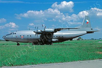 Antonov An-12  Cub 00003 Antonov An-12  Cub Czech Air Force 2105 via African Aviation Slide Service