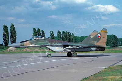 Mikoyan-Guryevich MiG-29 Fulcrum 00035 Mikoyan-Guryevich MiG-29 Fulcrum Czech Air Force 5616 via African Aviation Slide Service