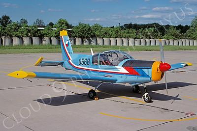 Zlin 142 00001 Zlin 142 Czech Air Force 0568 June 2005 via African Aviation Slide Service